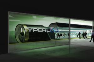 229- Representación de una estación Hyperloop One